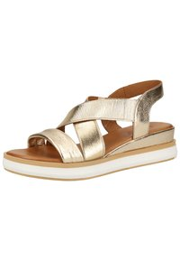 Inuovo - Plateausandalette - gold gld - 4