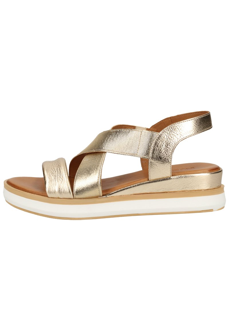 Inuovo - Plateausandalette - gold gld