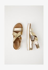 Inuovo - Plateausandalette - gold gld - 1