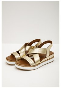 Inuovo - Plateausandalette - gold gld - 2