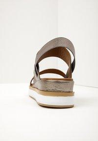 Inuovo - Platform sandals - pewter pwt - 4