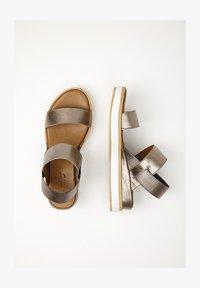 Inuovo - Platform sandals - pewter pwt - 1
