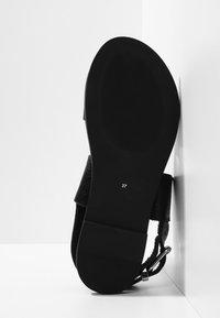 Inuovo - Sandaler - mntrl black nbl - 4