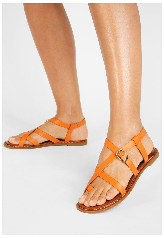 Sandaler - bdrm orange dor