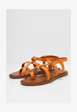 Sandalen - bdrm orange dor