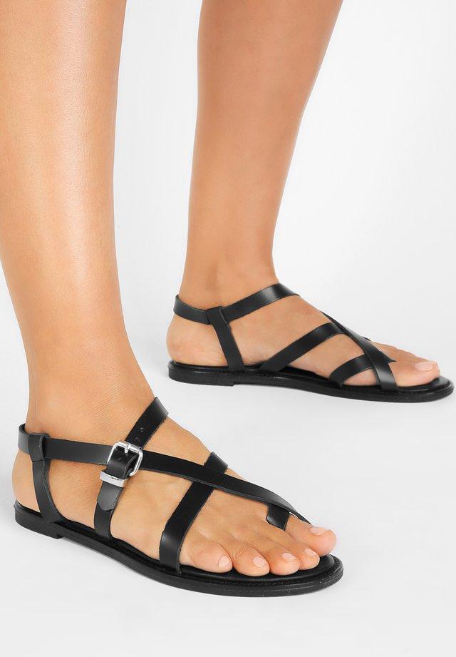 Sandals - bdrm black dbk