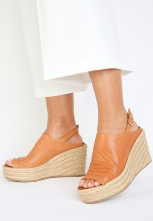 High heeled sandals - coconut ccn