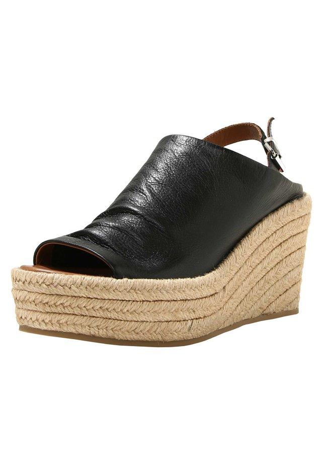 Sandales à talons hauts - black blk