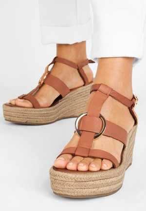 High heeled sandals - coconut ccn