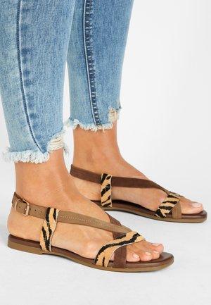 Sandales - tiger-sd brown-sd scissors tss