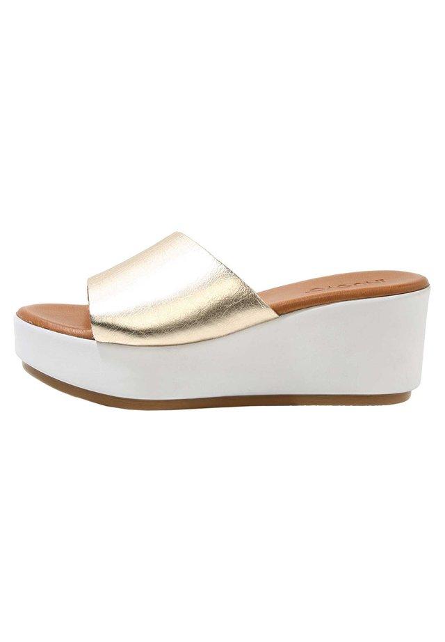 Sandaler - gold gld