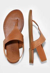 Inuovo - T-bar sandals - coconut ccn - 2