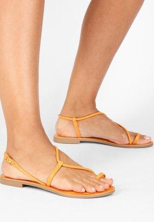 T-bar sandals - orange org