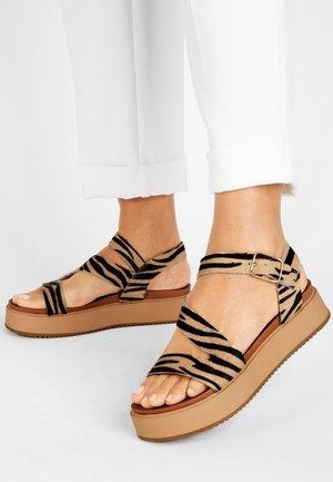 Platform sandals - tiger tgr