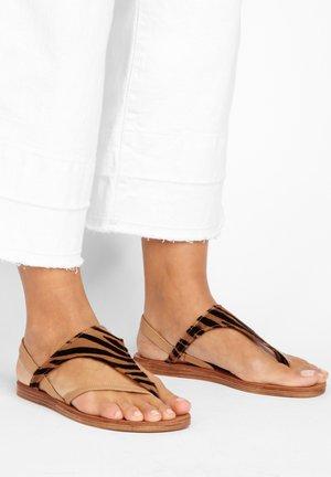 T-bar sandals - tiger-scissors tsc