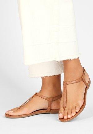 T-bar sandals - cocconut ccn