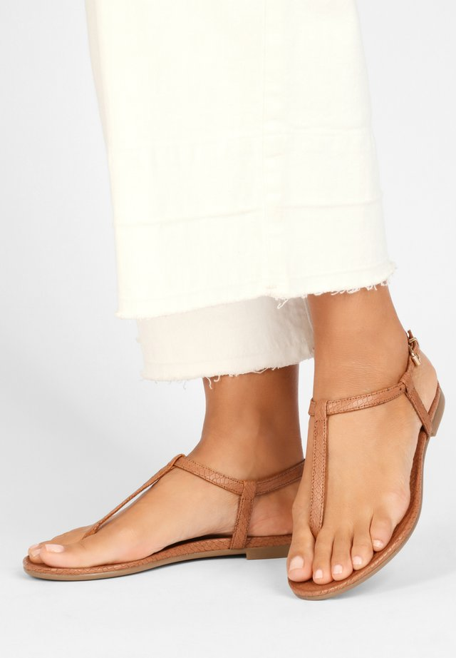 T-bar sandals - cocconut ccn