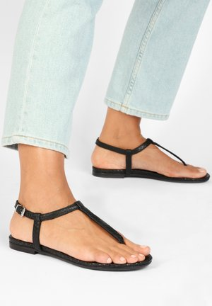 Sandaler m/ tåsplit - black blk