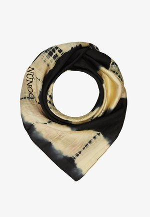 MARY SCARF DIP-DYE BLACK - Skjerf - black/orange