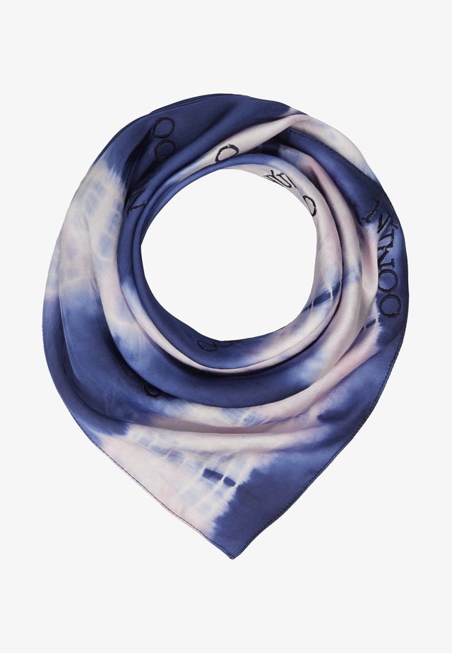 MARY SCARF DIP DYE - Tuch - navy/pink