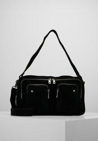 Núnoo - ALIMAKKA NEW SUEDE - Handbag - black - 0