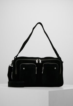 ALIMAKKA NEW SUEDE - Handbag - black