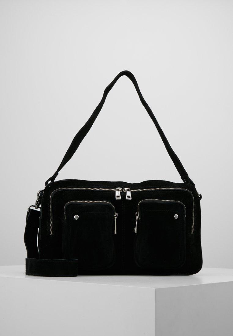 Núnoo - ALIMAKKA NEW SUEDE - Handbag - black