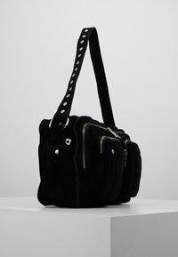 Núnoo - ALIMAKKA NEW SUEDE - Handbag - black - 3