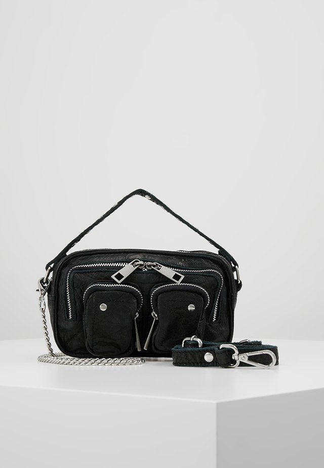 HELENA WASHED - Handbag - black