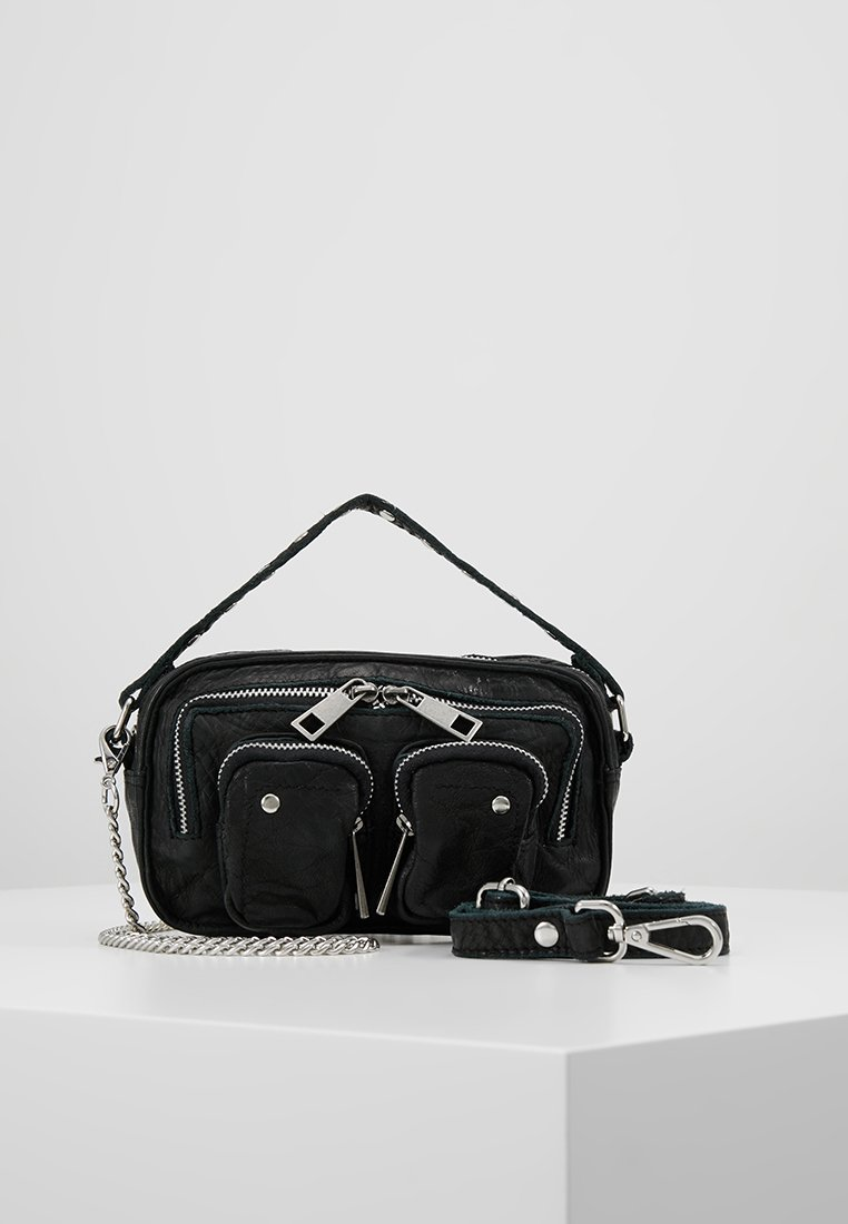 Núnoo - HELENA WASHED - Handtasche - black