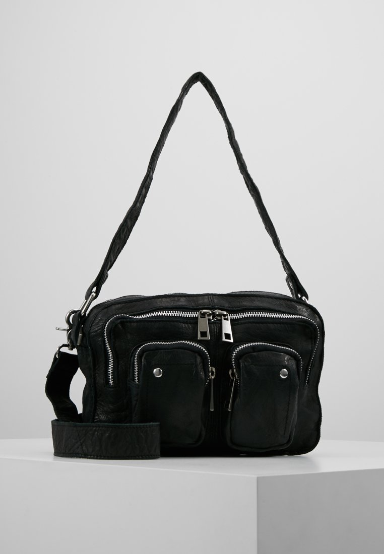 Núnoo - ELLIE WASHED - Handbag - black