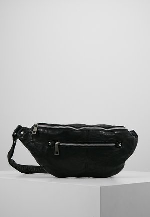 ALBERTE WASHED - Gürteltasche - black