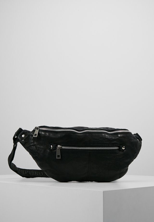 ALBERTE WASHED - Bum bag - black