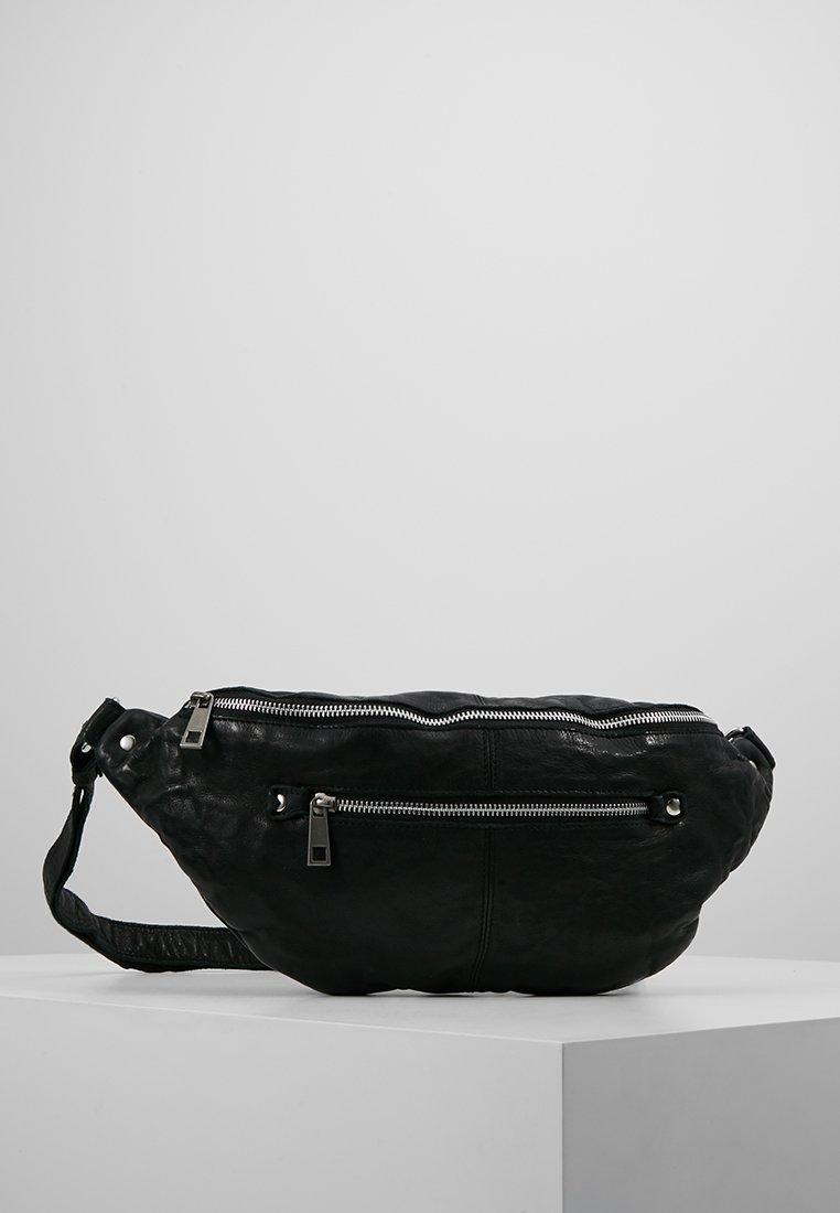 Núnoo - ALBERTE WASHED - Bum bag - black