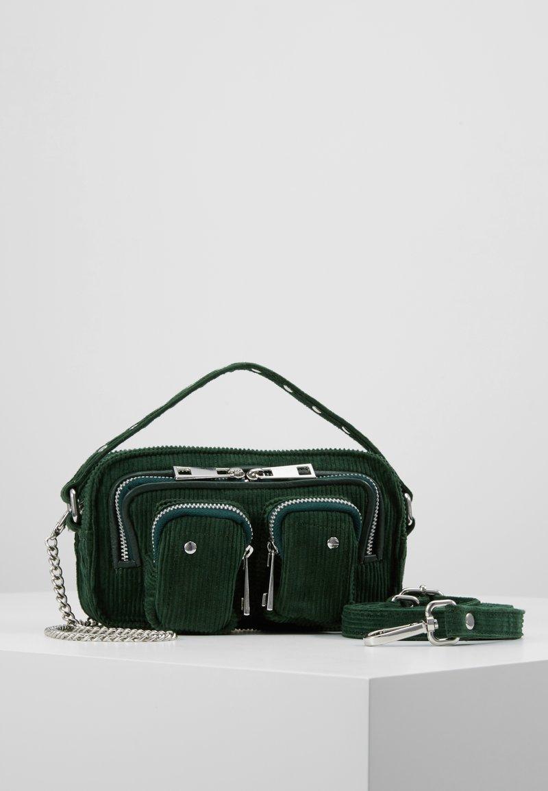 Núnoo - HELENA CORDUROY  - Handtasche - green