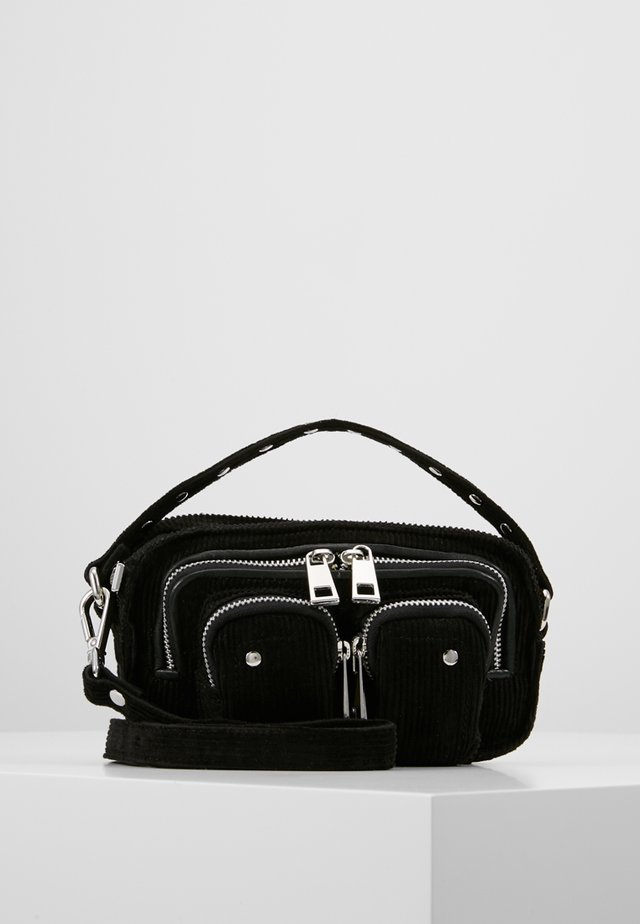 HELENA CORDUROY  - Handbag - black