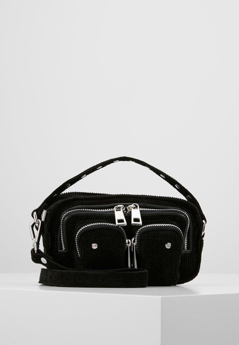 Núnoo - HELENA CORDUROY  - Handbag - black