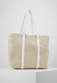 Núnoo - LARGE SHOPPER - Shoppingveske - sand - 3