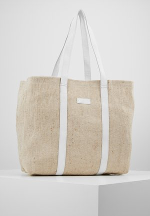 LARGE SHOPPER - Tote bag - sand