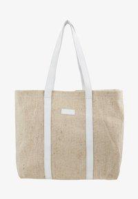 Núnoo - LARGE SHOPPER - Shoppingveske - sand - 1