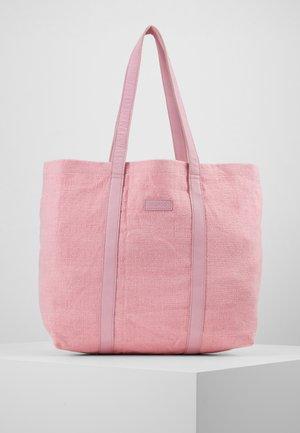 LARGE SHOPPER - Tote bag - pink