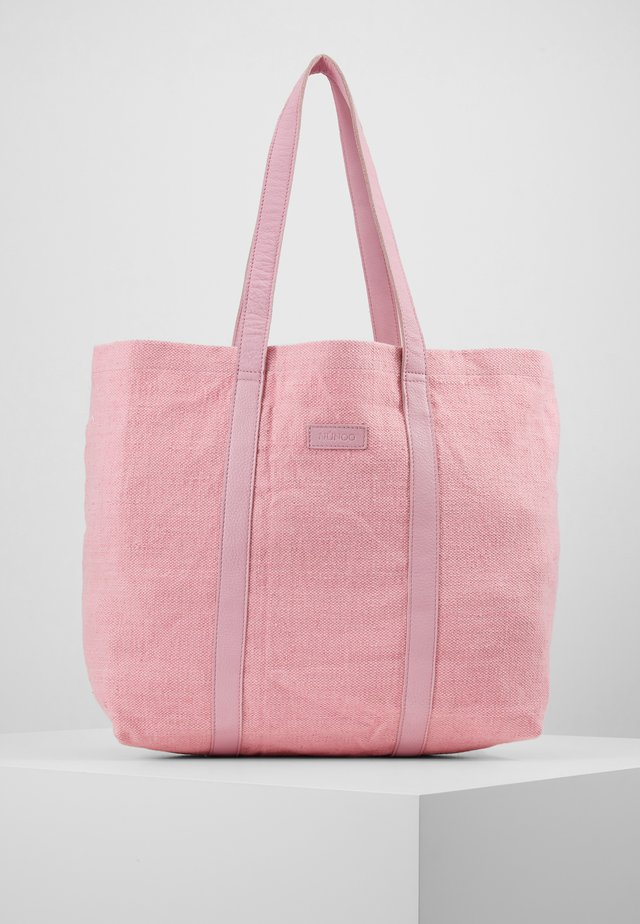 LARGE SHOPPER - Tote bag - pink