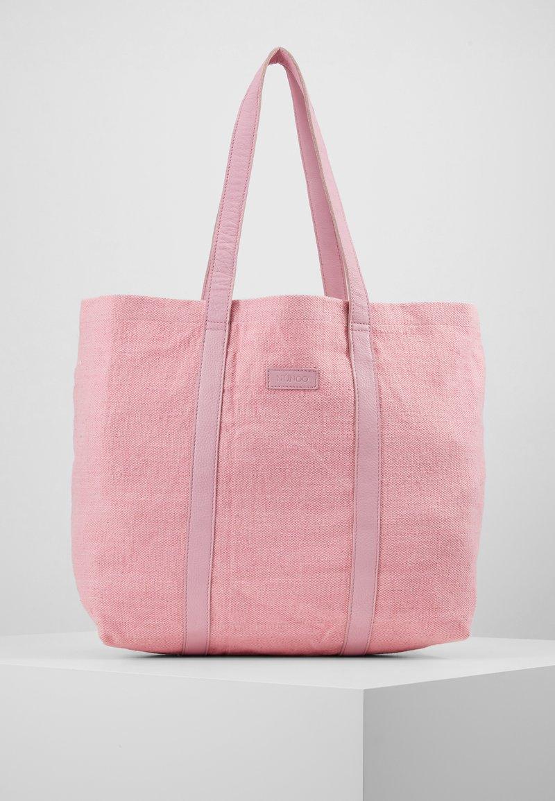 Núnoo - LARGE SHOPPER - Shopping bag - pink