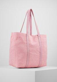 Núnoo - LARGE SHOPPER - Shopping bag - pink - 3