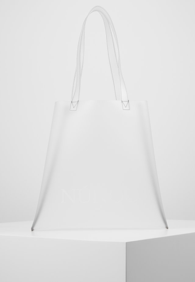 SMALL TOTE - Handtasche - colorless