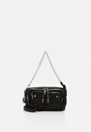 STINE CHAIN WASHED - Umhängetasche - black