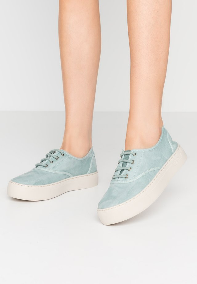 Scarpe senza lacci - aqua