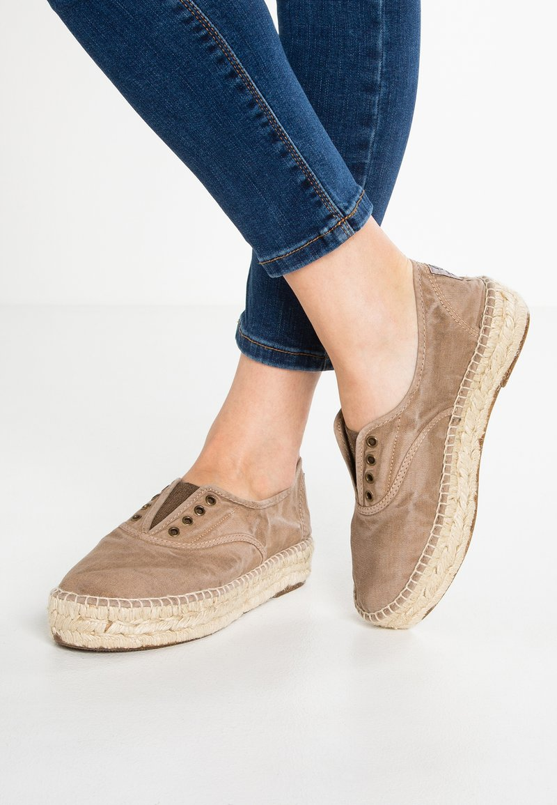 Natural World - INGLES  - Espadrille - beige