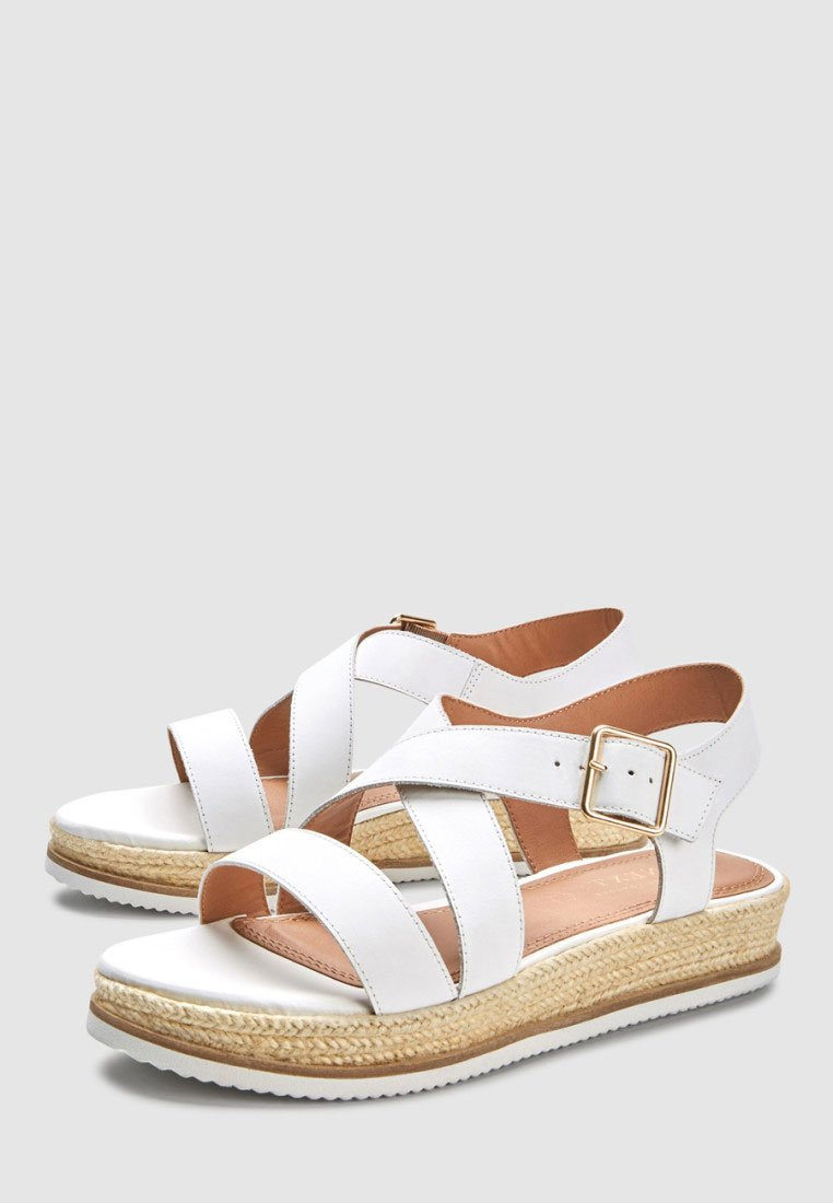 Next Sandales à plateforme - white