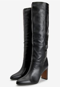 Next - FOREVER COMFORT® FEATURE HEEL KNEE HIGH BOOTS - Kozaki - black - 1